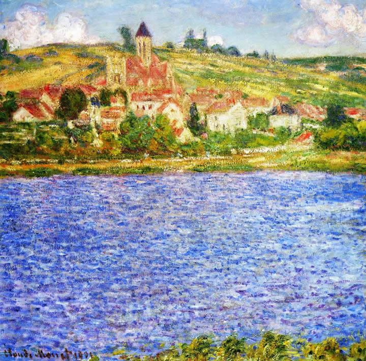 Claude Monet Vetheuil Afternoon