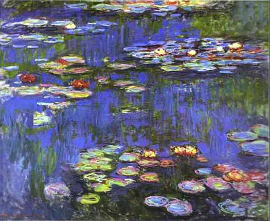 Claude Monet Water Lilies 1914