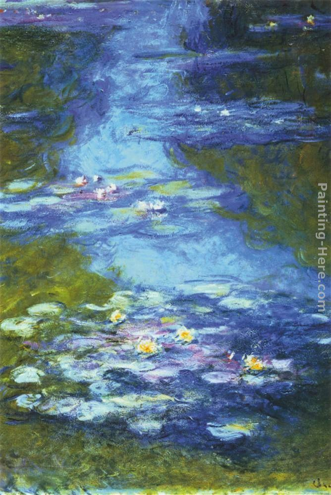 Claude Monet Water Lilies I