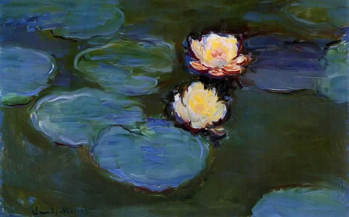 Claude Monet Water-Lilies 02