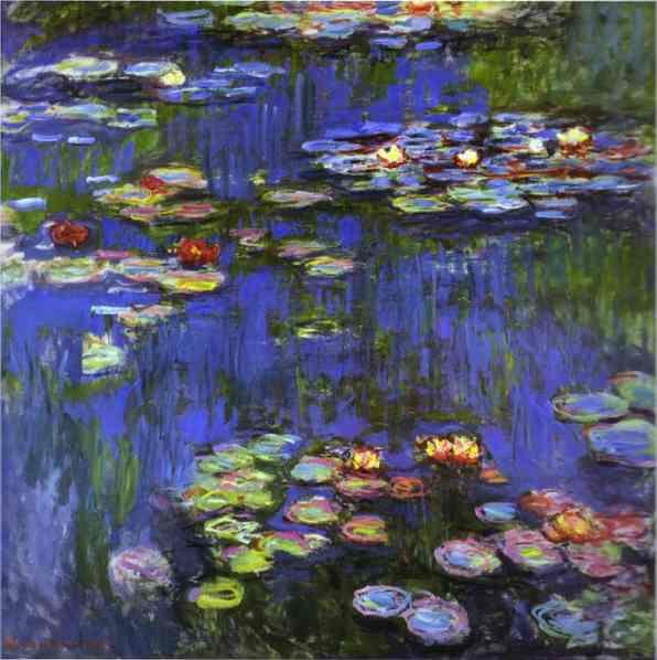 Famous Lilies Paintings