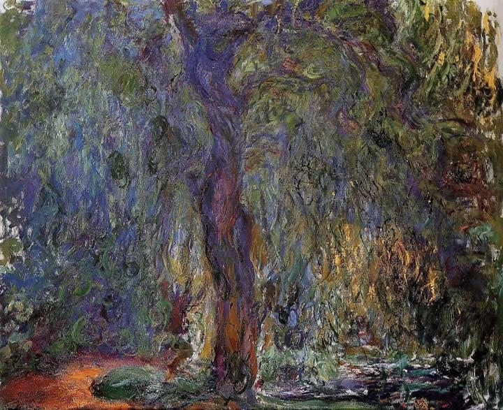 Claude Monet Weeping Willow 3