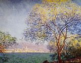 Morning Canvas Paintings - Antibes in the Morning