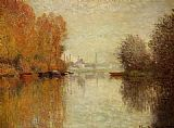 Autumn Canvas Paintings - Autumn on the Seine at Argenteuil