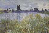 Claude Monet Bank of the Seine V theuil painting