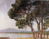 Claude Monet Beach in Juan-les-Pins painting