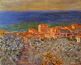 era Canvas Paintings - Borgo Marina at Bordighera