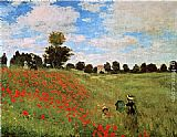 Claude Monet Wall Art - Corn Poppies