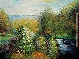 Claude Monet Wall Art - Corner of the Garden at Montgeron