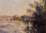 Evening Canvas Paintings - Evening Effect of the Seine