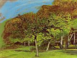 Trees Canvas Paintings - Fruit Trees