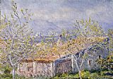 House Canvas Paintings - Gardener's House at Antibes