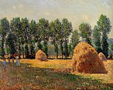 Haystacks at Giverny 2