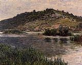 Famous Port Paintings - Landscape at Port-Villez
