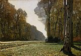 Claude Monet Le Pave de Chailly painting