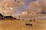 Claude Monet Lighthouse at the Hospice painting