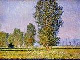 Claude Monet Meadow at Limetz painting
