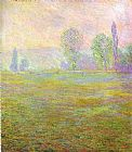 Claude Monet Meadows at Giverny painting