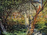 Claude Monet Monet's Garden at Vetheuil painting