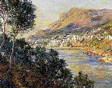 Claude Monet Monte Carlo Seen from Roquebrune painting