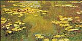 Claude Monet Pond of Waterlilies painting