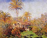 far Canvas Paintings - Small Country Farm in Bordighera