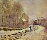 Famous Snow Paintings - Snow at Argenteuil