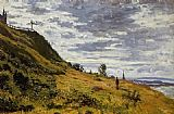 king Canvas Paintings - Taking a Walk on the Cliffs of Sainte-Adresse