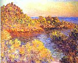 Claude Monet The Cape Martin painting