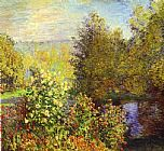 Claude Monet The Corner of the Garden at Montgeron painting
