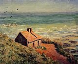 Claude Monet The Custom House Morning Effect painting