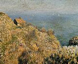 House Canvas Paintings - The Fisherman's House at Varengeville
