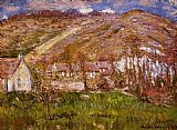 Claude Monet The Hamlet of Falaise near Giverny painting