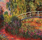 pan Canvas Paintings - The Japanese Bridge 09
