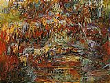 Claude Monet The Japanese Bridge 12 painting