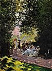 Claude Monet The Parc Monceau Paris 2 painting