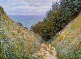 Path Canvas Paintings - The Path at La Cavee Pourville