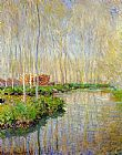 River Canvas Paintings - The River Epte