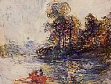 Claude Monet The River painting