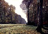 Claude Monet The Road To Chailly painting