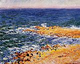Claude Monet The Sea in Antibes painting