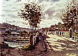 Claude Monet The Seine At Bougival painting
