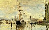 Claude Monet The Seine At Rouen painting