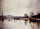 Claude Monet The Seine Below Rouen painting