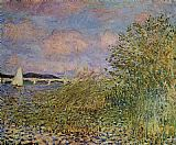 Claude Monet The Seine at Argenteuil 1 painting