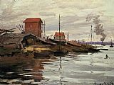 Claude Monet The Seine at Le Petit Gennevilliers painting