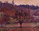 Claude Monet The Val de Falaise painting