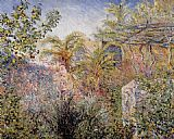 Claude Monet The Valley of Sasso Bordighera 1 painting