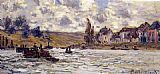 Claude Monet The Village of Lavacourt painting