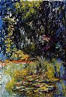 Claude Monet The Water-Lily Pond 8 painting